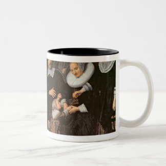 Family Group in a Landscape, c.1647-50 Coffee Mug