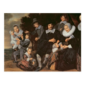 Family Group in a Landscape, c.1647-50 Postcard