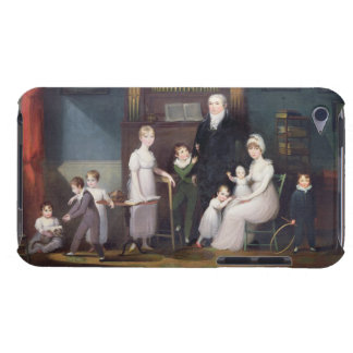Family Group in an interior, c.1800 Barely There iPod Case