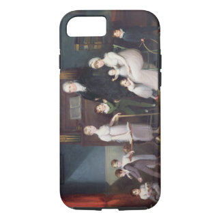 Family Group in an interior, c.1800 iPhone 8/7 Case