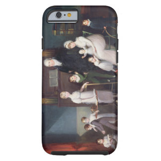 Family Group in an interior, c.1800 Tough iPhone 6 Case