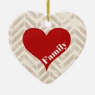 Family Heart Ornament