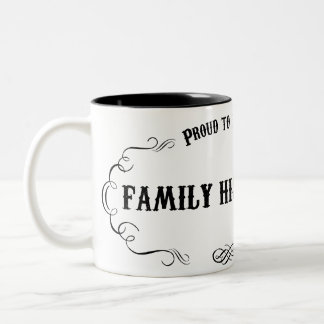 Family Historian Two-Tone Coffee Mug