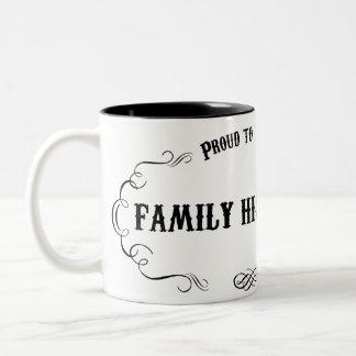 Family Historian Two-Tone Mug