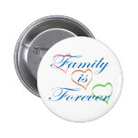 Family is Forever 6 Cm Round Badge