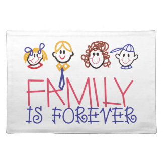 Family is Forever Place Mats