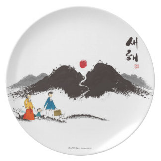 Family Journey Plate