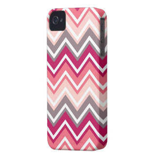 Family marries for Blackberry Bold pink chevron Case-Mate iPhone 4 Case