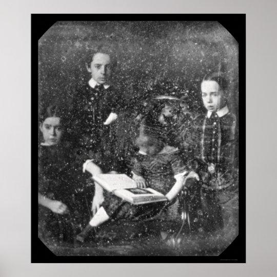 Family McAllister Daguerreotype 1851 Poster
