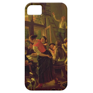 Family Meal (oil on canvas) iPhone 5 Covers