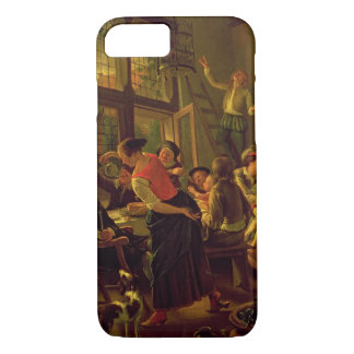 Family Meal (oil on canvas) iPhone 8/7 Case