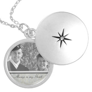 Family Memorial Photo Locket