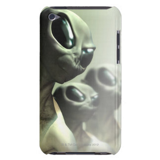 Family of aliens huddled together. barely there iPod covers