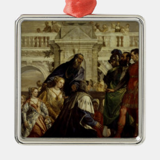 Family of Darius before Alexander the Great 2 Christmas Ornament
