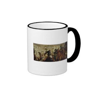 Family of Darius before Alexander the Great 2 Ringer Coffee Mug