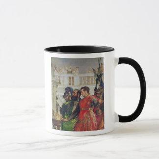 Family of Darius before Alexander the Great Mug