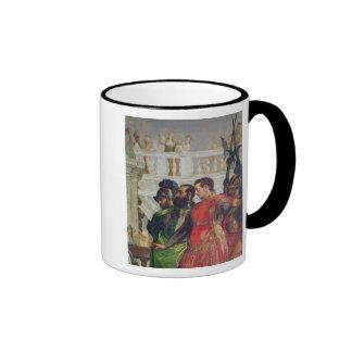 Family of Darius before Alexander the Great Ringer Mug