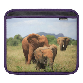 Family of elephants iPad sleeve