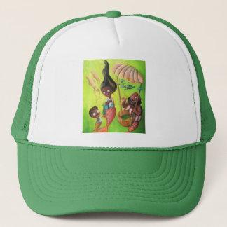 Family of Mermaids Trucker Hat