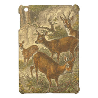 Family of Roe - Deers in a Forest iPad Mini Cover