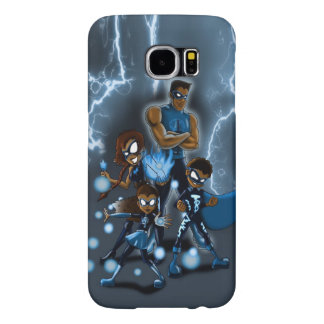 """Family of Super Heroes"" Samsung Galaxy S6 Cases"
