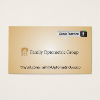 Family Optometric Group Business Card