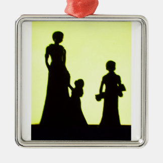 family outing christmas ornament