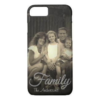 Family Overlay | Upload Photo | Personalized iPhone 8/7 Case