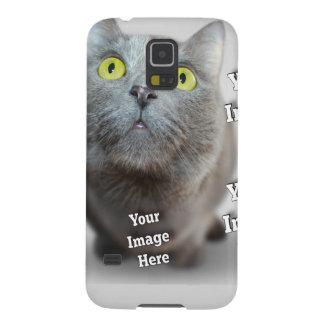 Family Pet Image Template Galaxy S5 Cases