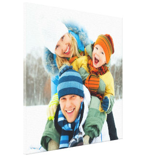 Family Photo [24x24] inches Stretched Canvas Print