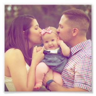 Family Photo 6x6 Square Photo Paper