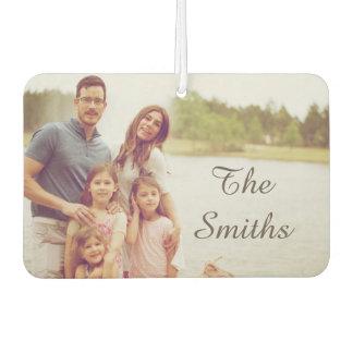 Family Photo Car Air Freshener
