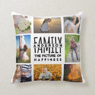 Family Photo Cushion