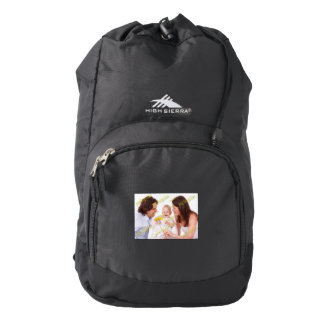 Family Photo Easy Budget Template Backpack