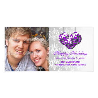 Family photo greeting PERSONALIZE Personalised Photo Card