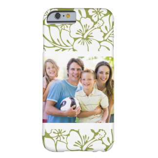 Family Photo Hawaiian Vacation Design Barely There iPhone 6 Case