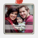 Family Photo Ornaments