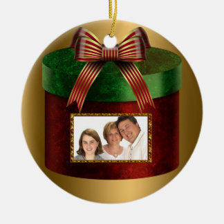 Family Photo Personalized Christmas Ornament