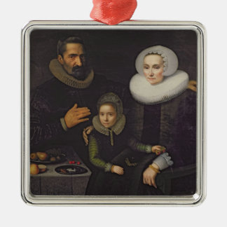 Family Portrait Christmas Ornament