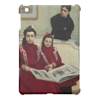 Family Portrait of a Boy and his Two Sisters, 1900 iPad Mini Covers