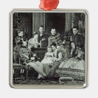 Family Portrait of Emperor Alexander II Christmas Ornament
