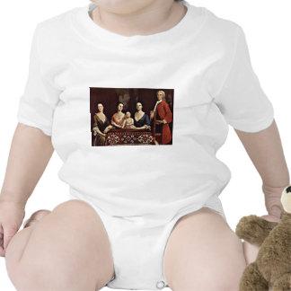 Family Portrait Of Isaac Royall By Feke Robert Shirts