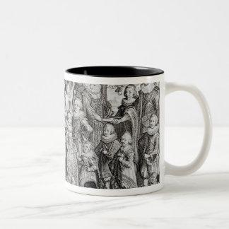 Family Portrait of James I of England Mugs