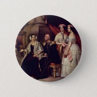 Family Portrait Of The Duke Joseph Of Saxe-Altenb 6 Cm Round Badge