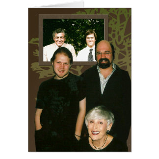 Family Portraits Greeting Card