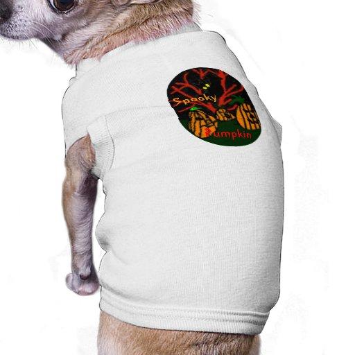 Family Pumpkin Dog Tee Shirt