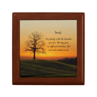 FAMILY QUOTE GIFT BOX