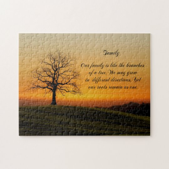 FAMILY QUOTE JIGSAW PUZZLE