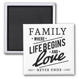 Family Quote. Magnet