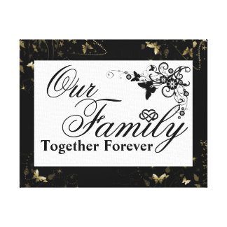 Family Quote/Wrapped Canvas Gallery Wrap Canvas